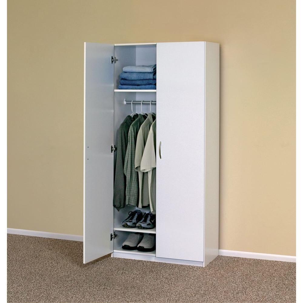 ClosetMaid 112.112 in. D x 112.112 in. W x 112.11212 in. H 12-Door Wardrobe