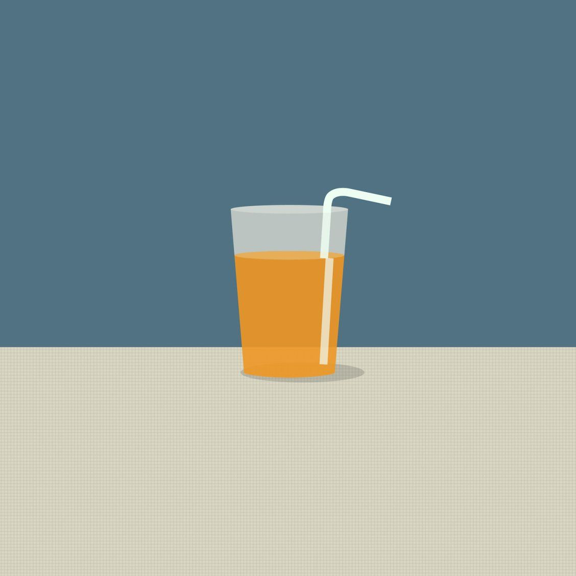 """Juice"" Art by each thursday on Society6 