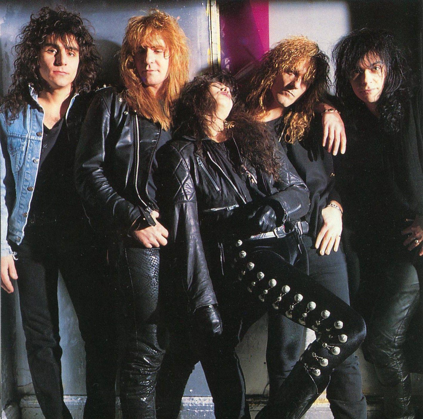 Saraya Saraya 1989 Female Musicians 80s Metal Bands Glam Metal