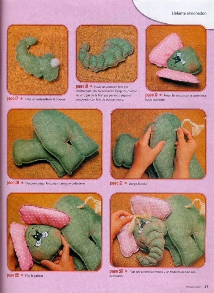 revistas de manualidades gratis | muñecos soft | Pinterest