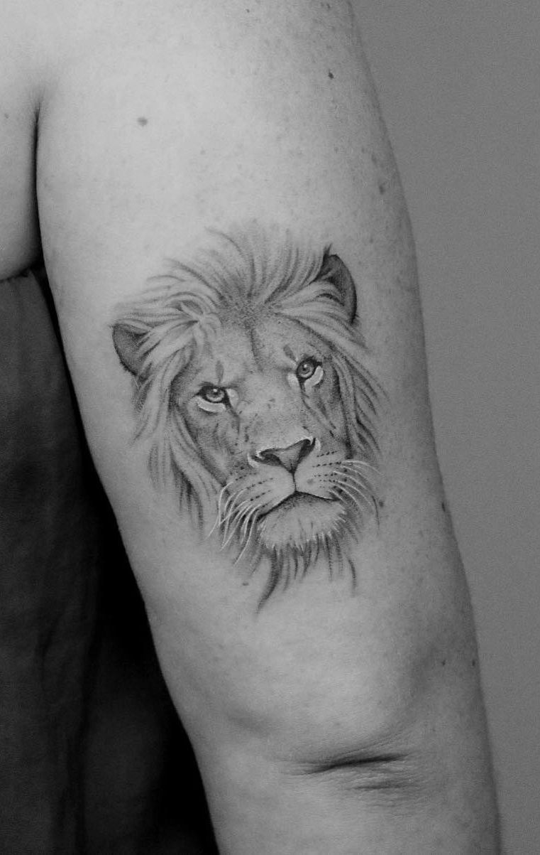 50 Eye-Catching Lion Tattoos That'll Make You Want To Get Inked - KickAss Things