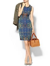 M Missoni Digital Batik Jacquard Dress
