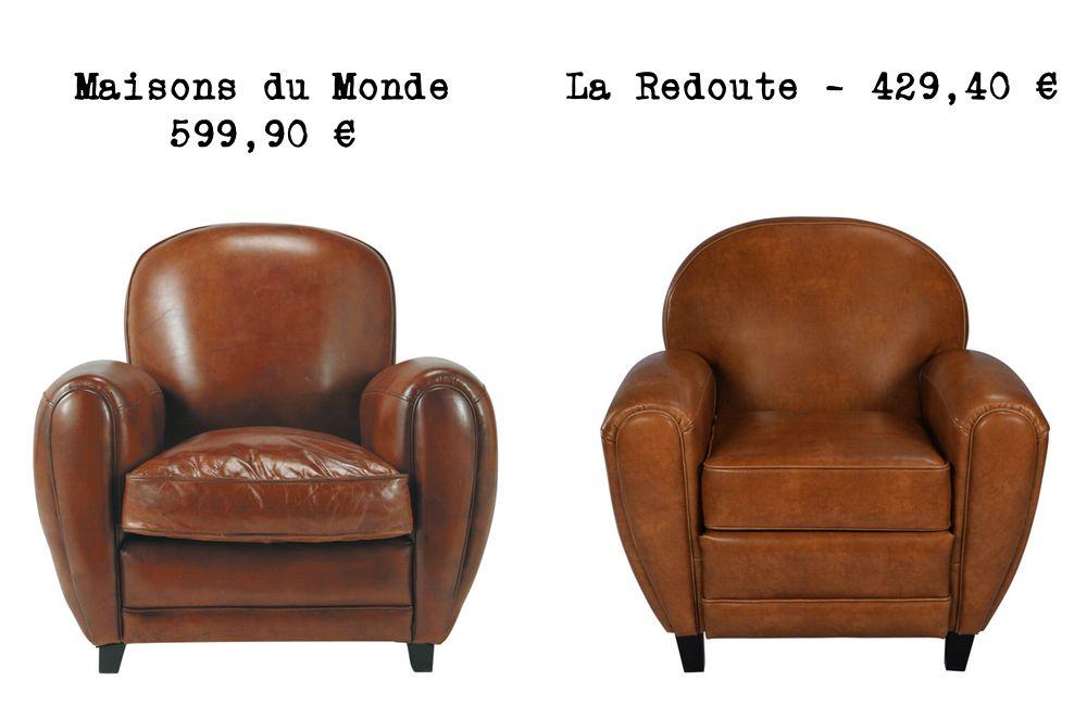 Le mªme en moins cher un fauteuil club