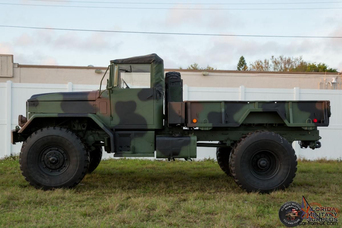 1968 kaiser jeep m54a2 military multifuel 5 ton bobbed m35 4x4 super singles sweet rides. Black Bedroom Furniture Sets. Home Design Ideas