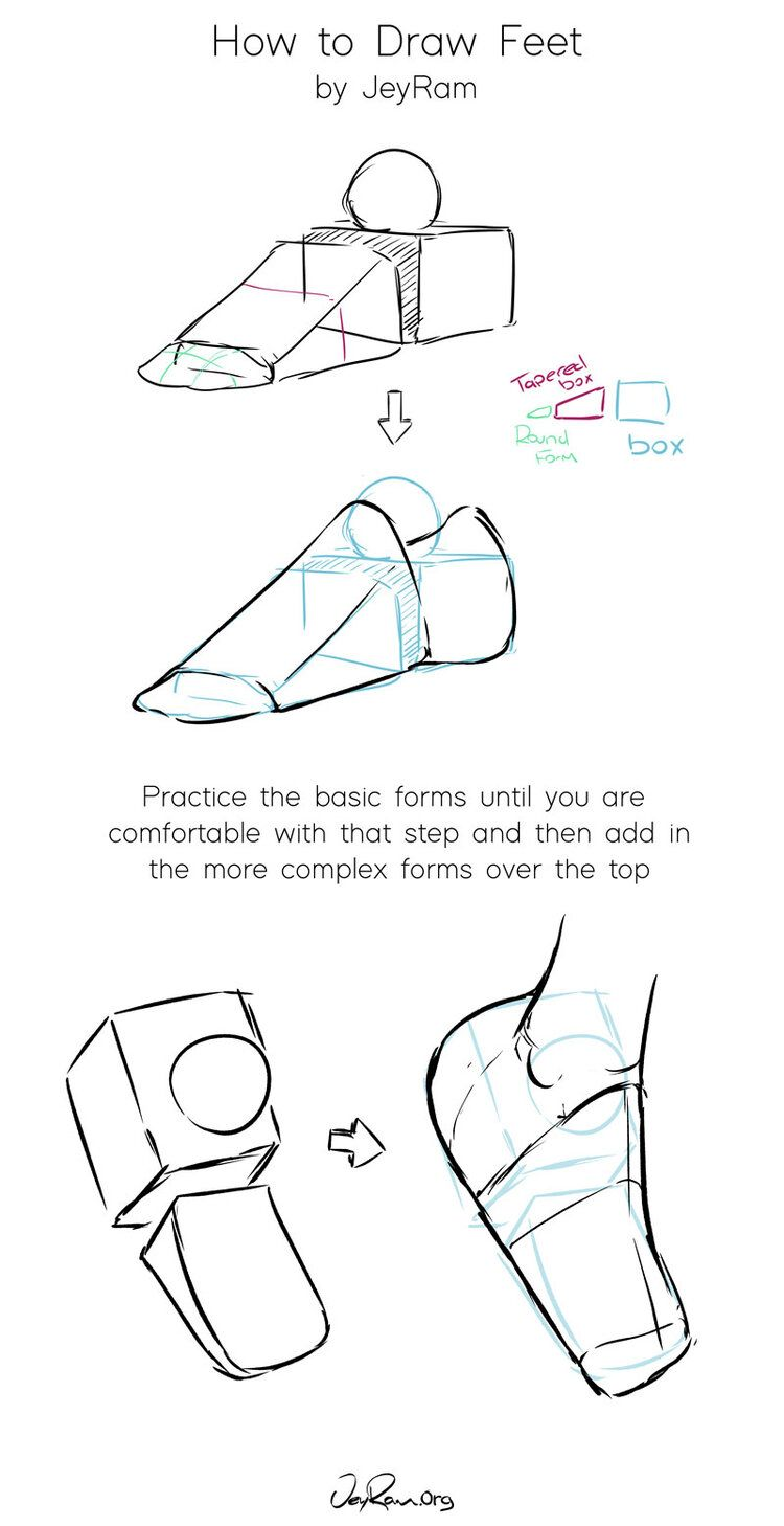 How To Draw Feet Jeyram Art In 2020 Anatomy Tutorial Feet Drawing Anatomy