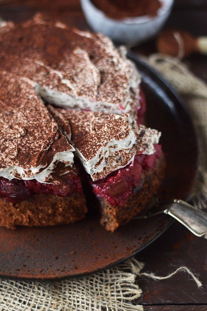 Haselnuss Kirsch Kuchen Ein Familienklassiker Rezept Rezepte