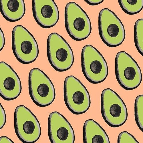 Avocados Pattern by Sara Combs ilustration
