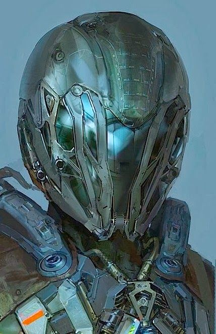 Helmet - possibly concealing alien species