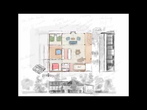 Watch Architect Design Render A Cabin In The Woods Using Procreate Ipad Pro Apple Pencil Procreate Apple Pencil Architect Design Procreate App Tutorial
