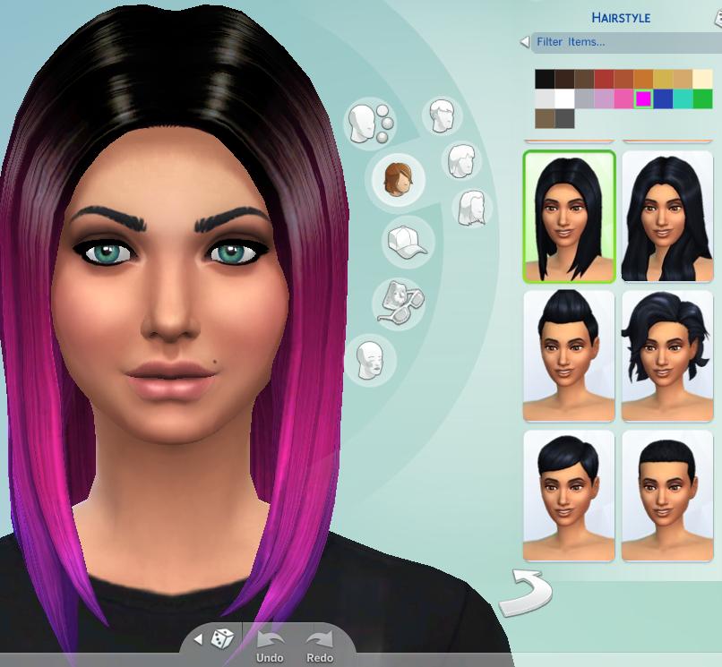Sims4customhair Hair Non Default Ombre Hair 2014 08 24 Sims 4