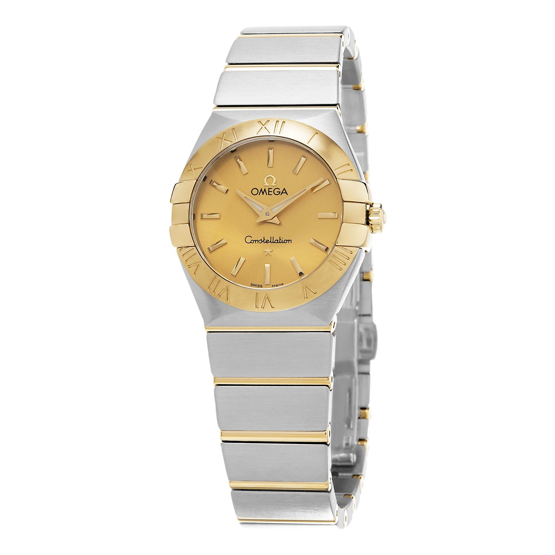 Omega Women's 123.20.27.60.08.001 'Constellation' tone Dial Stainless Steel/Yellow Swiss Quartz Watch