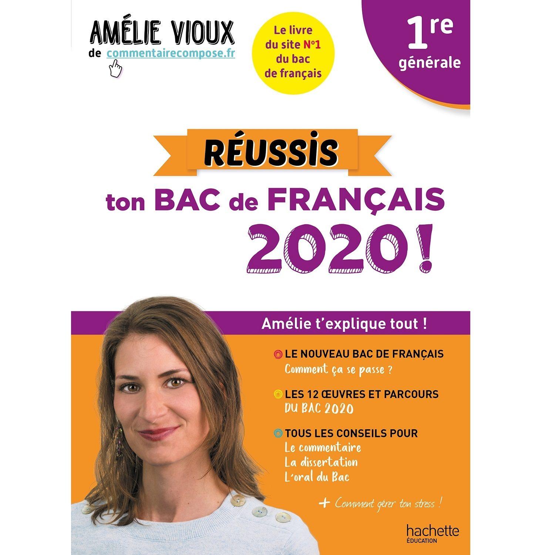 Livre parascolaire Réussis ton Bac de français 1re