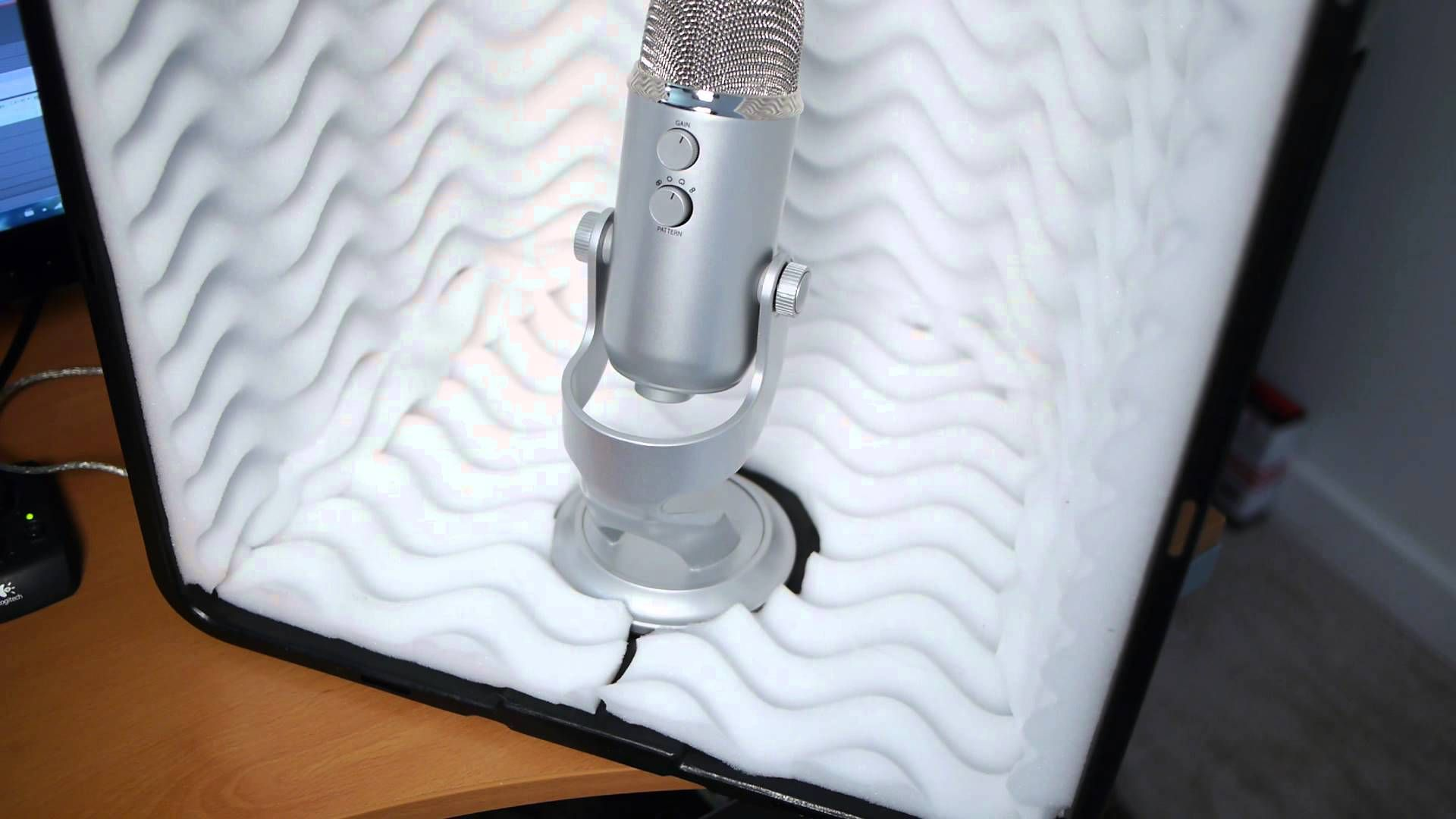 Diy 23 00 Mini Sound Booth Build In Under An Hour Recording Studio Diy Recording Booth Recording Studio Home
