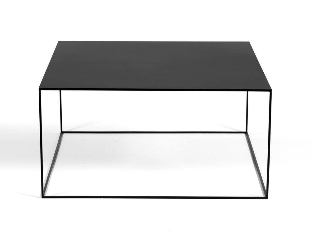 Table Basse Carree En Metal 90cm X90x45 Talk Delamaison 209 Table Basse Metal Table Basse Table Basse Carree Noire