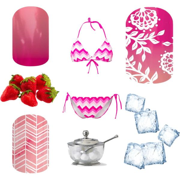Strawberry Daiquiri by kaedyg on Polyvore featuring polyvore and art
