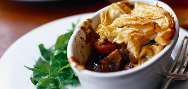 Individual steak & ale pies Hearty pies made with lean ...