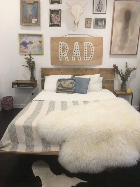 Super Cool Queen Or Full Bed Frame Apartment Therapy Marketplace