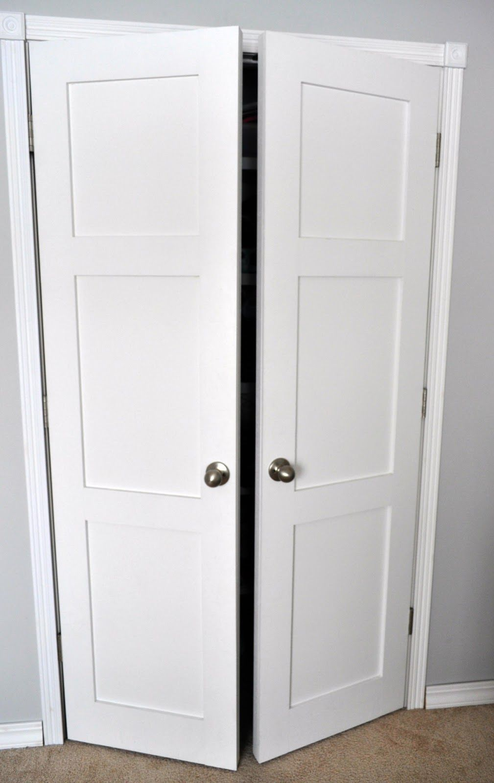 From Keep Calm And Decorate Replacing Sliding Closet Doors With