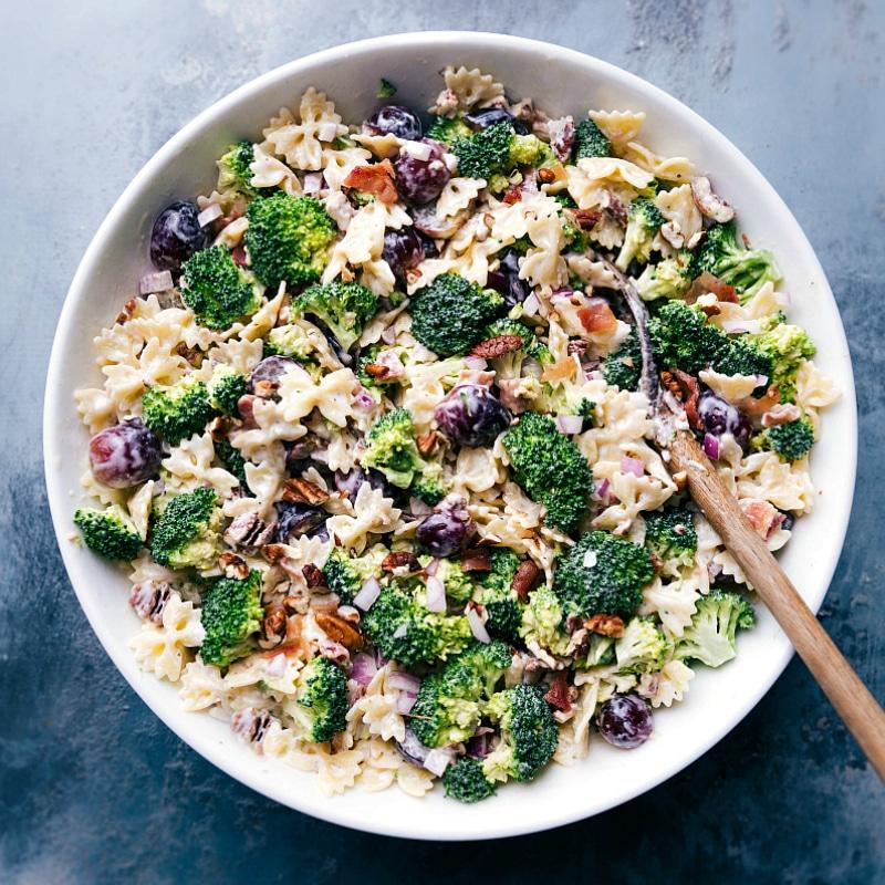 Broccoli Grape Pasta Salad | Chelsea's Messy Apron
