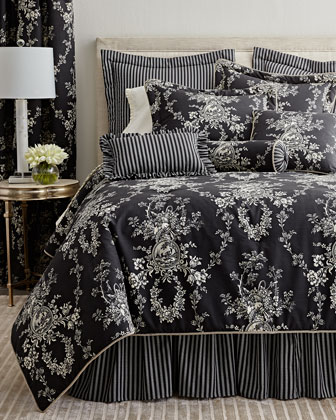Photo of Sherry Kline Home French Toile Bedding –  -6RKY Sherry Kline Home Queen 3-Piece …