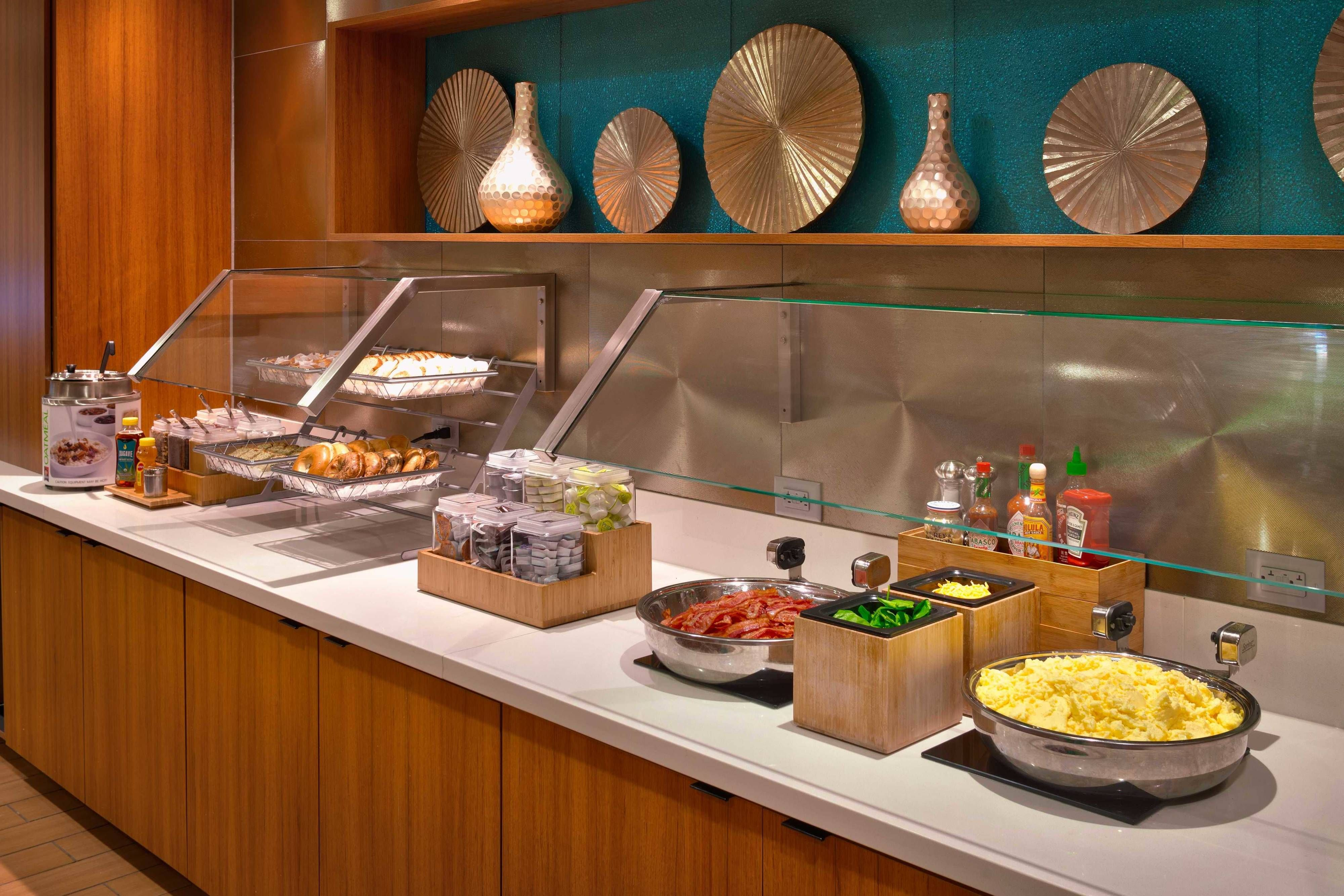 Springhill Suites Salt Lake City Draper Breakfast Buffet Guest