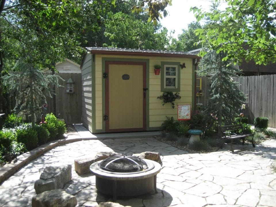 Under Contract~1004 N. 6th~ Fire Pit And Shed~MBA Real Estate
