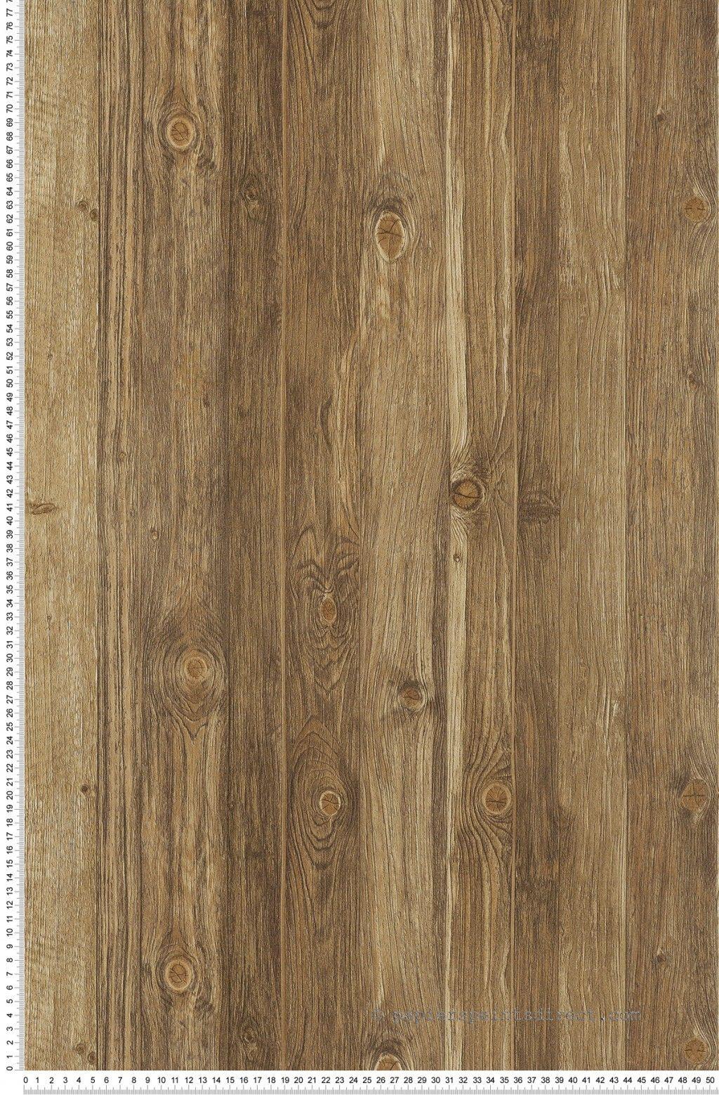 Trompe l 39 il effet bois brun wood 39 n stone agrandissement maison - Meuble trompe l oeil ...
