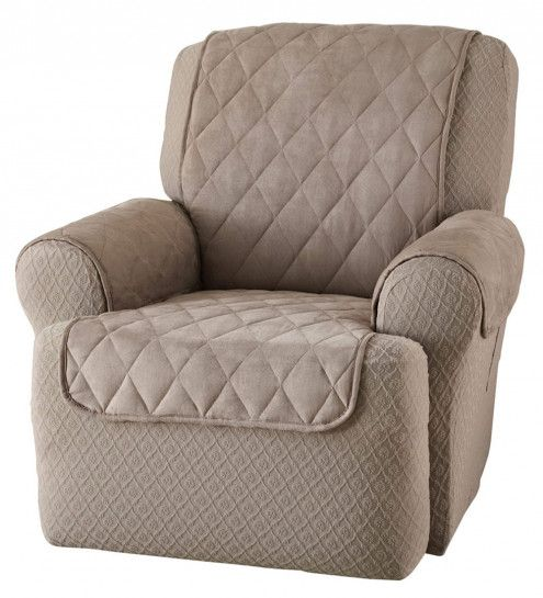 chair covers for wingback recliners eiffel oak legs reuseit quilted recliner cover organize