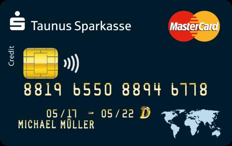 بطاقة ماستر كارد الذهبية في ألمانيا Sparkasse