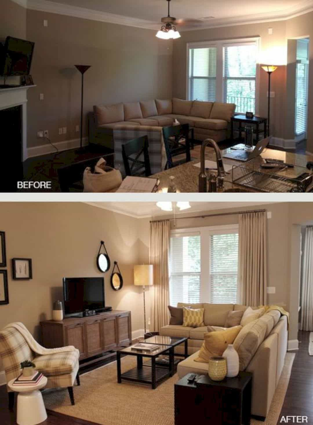 12 Living Room Ideas For A Grey Sectional 15 Clever Ideas To Decora Small Living Room Layout Furniture Placement Living Room Living Room Furniture Arrangement Small living room furniture