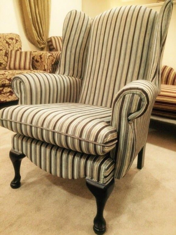 Haley Wing Chair High Chairs Funky