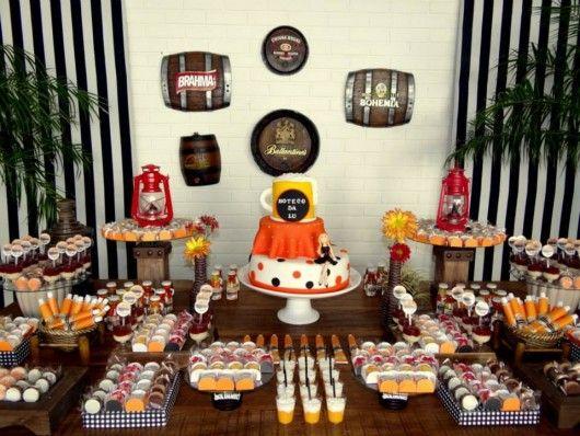 decoracao niver boteco:Festa de aniversário: Boteco da Lu