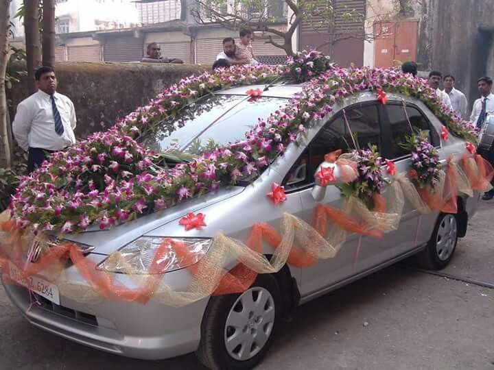 Pin By Vinod Shet On Indian Wedding Cars Pinterest Wedding Amazing Car Decoration Accessories India