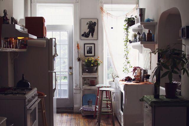 a brooklyn apartment mariebee decor spaces pinterest k chenzeug bremen und. Black Bedroom Furniture Sets. Home Design Ideas