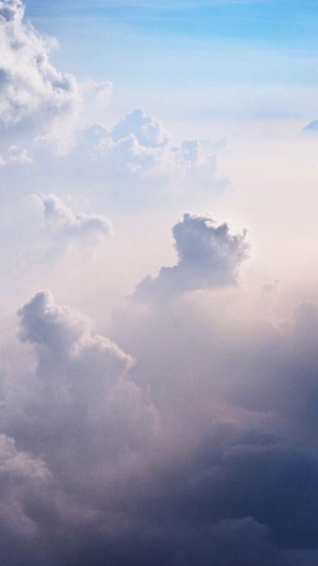 My Lockscreens - Clouds Background