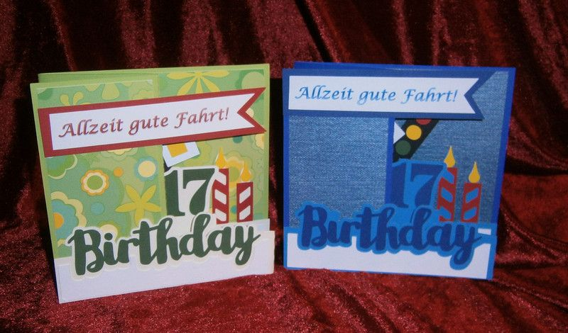 Geburtstagskarte 3d