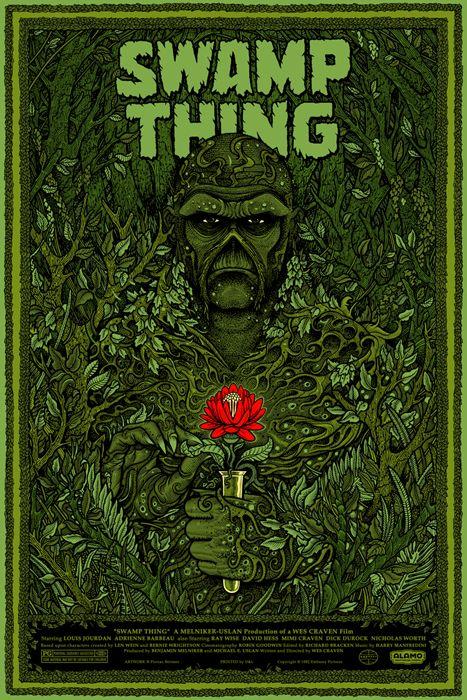 Swamp Thing 1982 Carteles Del Arte Produccion Artistica