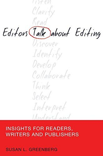 Editor Talk About Editing Insight For Reader Writer And Publisher Mas Communication Journalism Free Download By Susan L Gree Buch Dissertation Topic Pdf