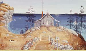 """Barbara Cooney Miss Rumphius' House for """"Miss Rumphius"""", 1982"""