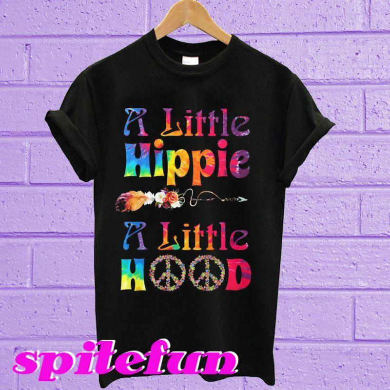 A Little Hippie A Little Hood Floral T Shirt T Shirt Shirts