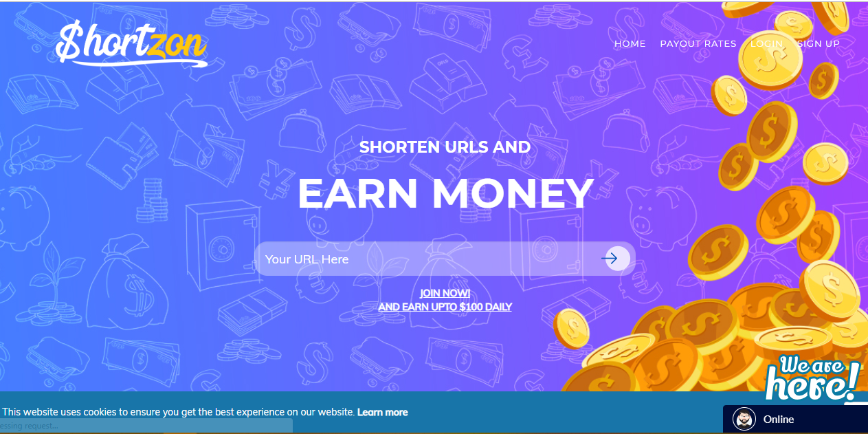 Shortzon Review Payment Sign Up
