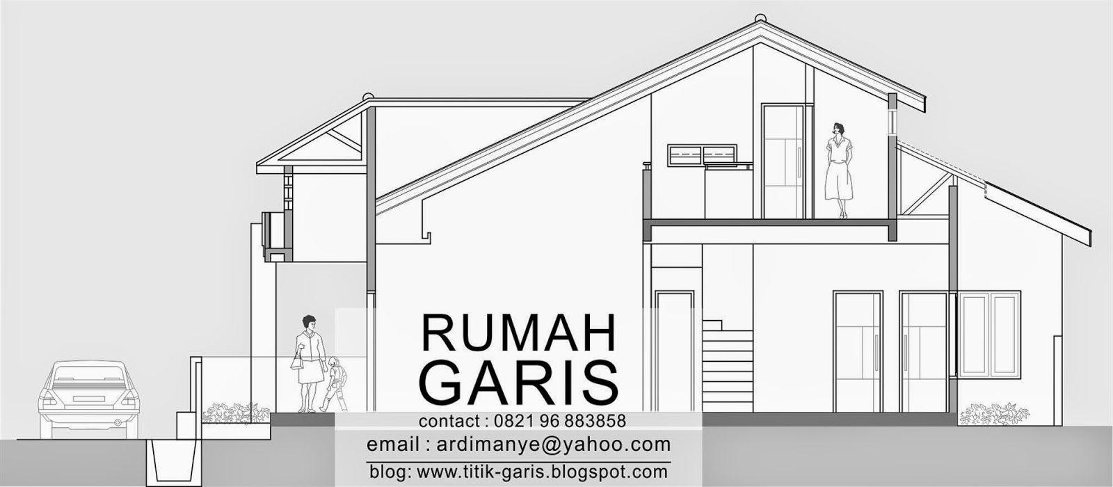 Potongan Arsitektur Model Rumah Takalar Gowa Makassar Jpg 1600 700 Denah Lantai Rumah Rumah Desain Rumah