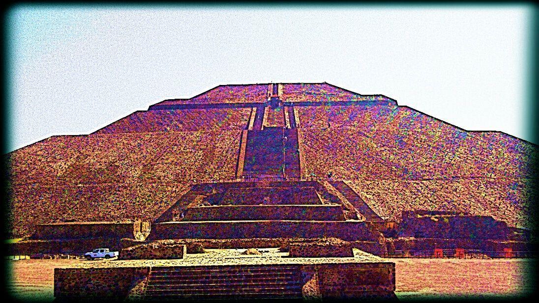 Pirámide del sol, Mexico