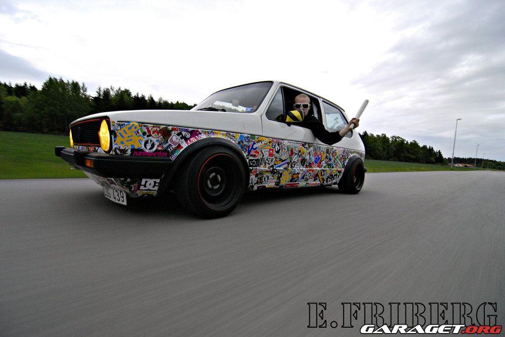 The Crashing Door Sticker Bomb Sticker bomb, Retro cars