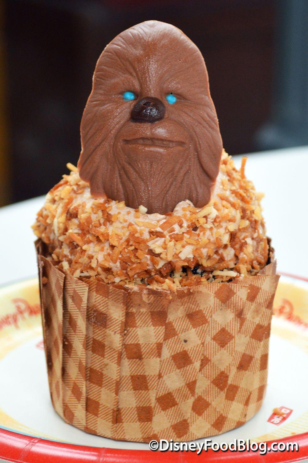 Chocolate Coconut Kashyyyk German Chocolate Cupcake | Star Wars ...