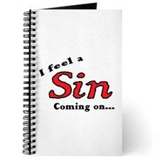 I FEEL A SIN COMING ON... Journal