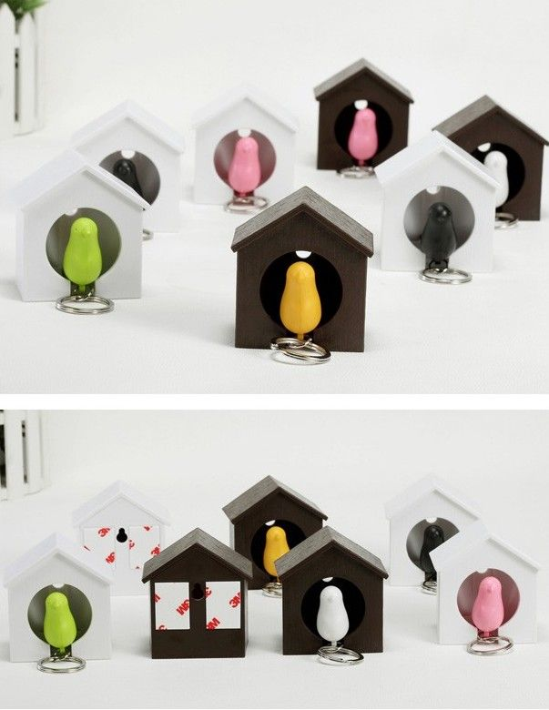 Sparrow Birdhouse Key Ring7.jpg (603×780)