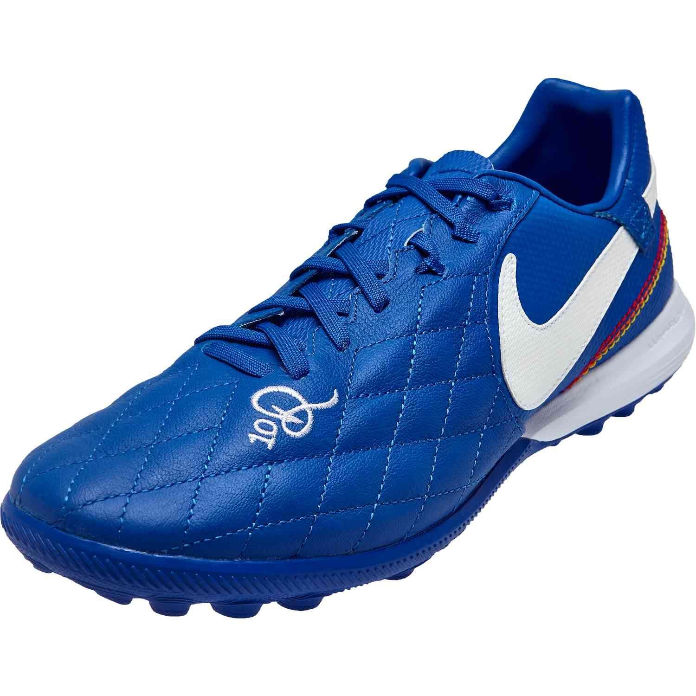 Nike 10r Tiempo Legend 7 Pro Tf Game Royal White Soccerpro Nike Soccer Shoes Soccer Shoes Nike