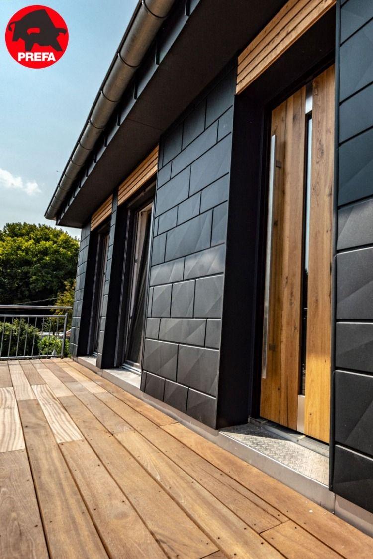Dachsysteme und Fassadensysteme Fassade, Fassade haus