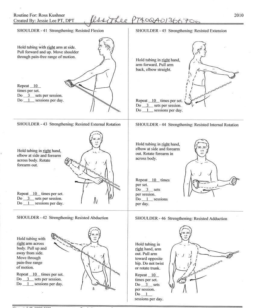 Shoulder Rehab Physical Therapy Exercises Rotator Cuff Google Search Shoulder Exercises Physical Therapy Cherry Blog Physical Therapy Exercises Shoulder Exercises Physical Therapy Shoulder Rehab